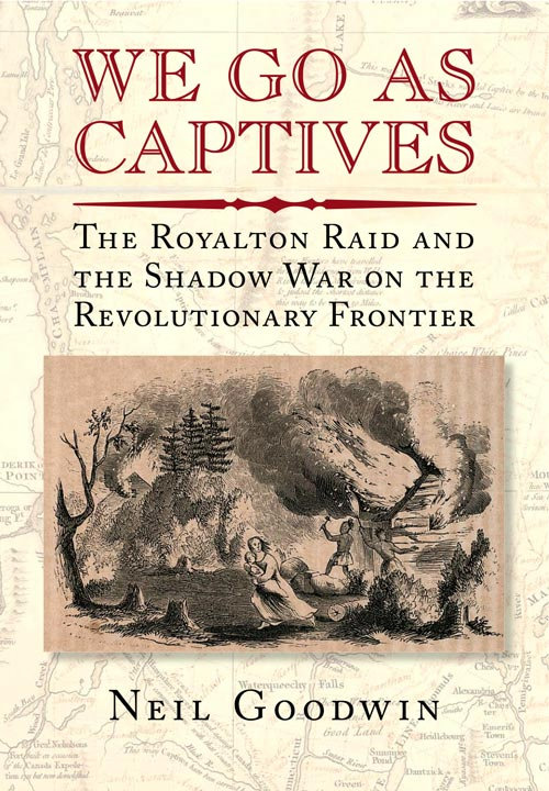 We Go As Captives - Front Cover Image